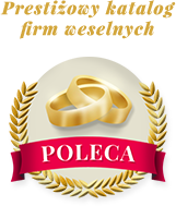 Prestiżowy Katalog Firm Weselnych Poleca