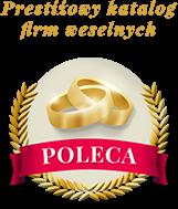 Katalog firm weselnych poleca!