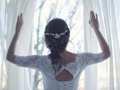 Najmodniejsze fryzury ślubne 2019